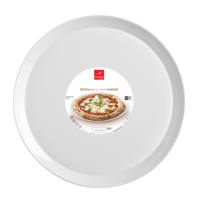 Чиния за пица 33,5см Bormioli Rocco Ronda - 12 броя