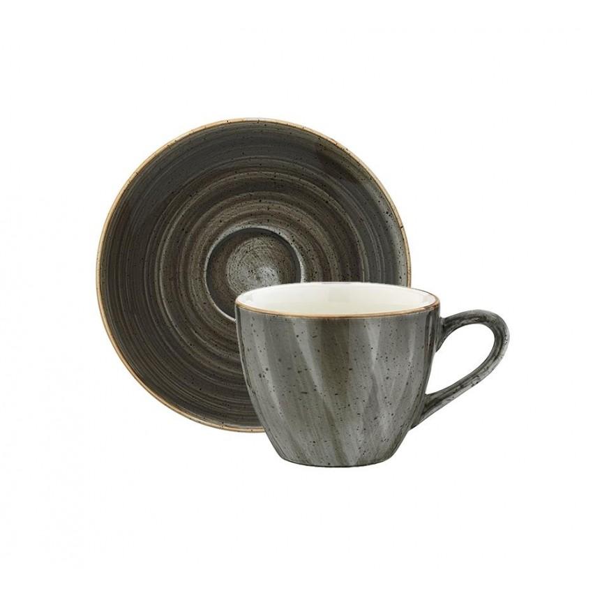 Чаша с чинийка за кафе Bonna Space - 70мл. - 1 бр.