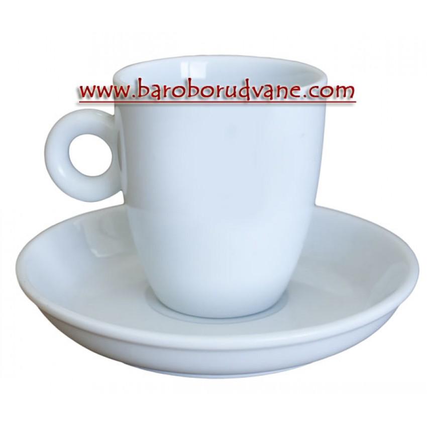 Чаша с чинийка 240ml - 12 броя