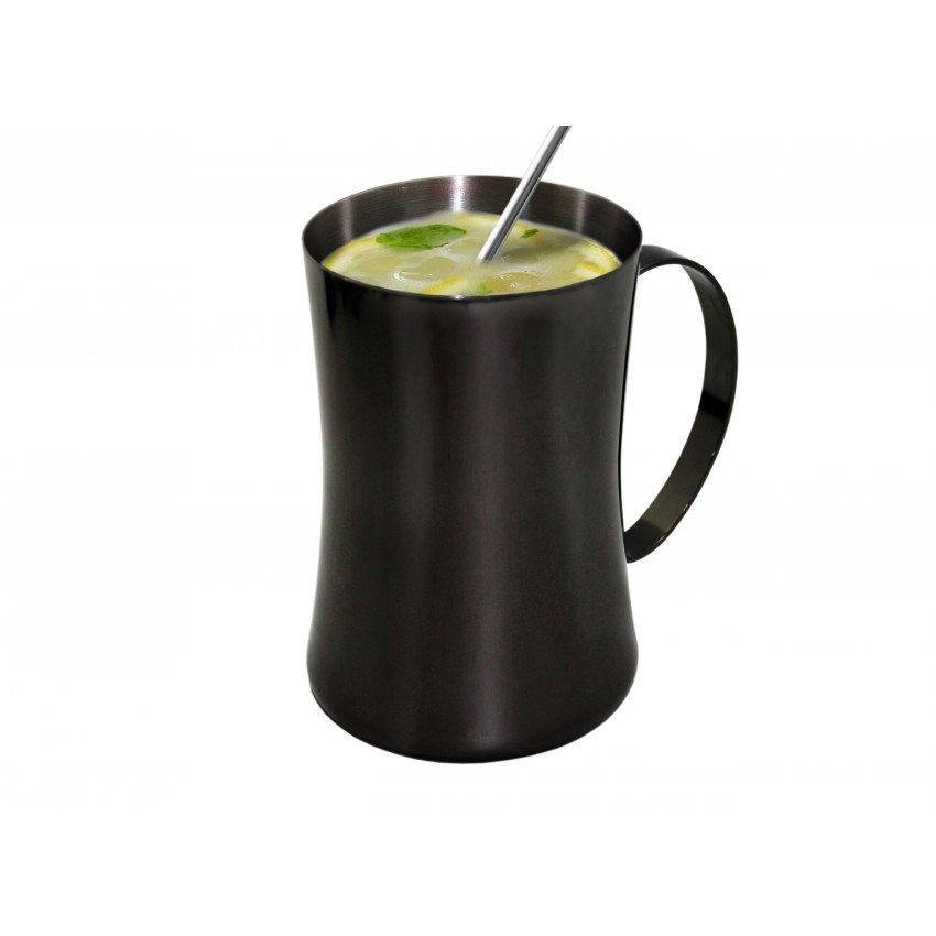 Метална чаша за коктейли 550ml черна - 1 брой