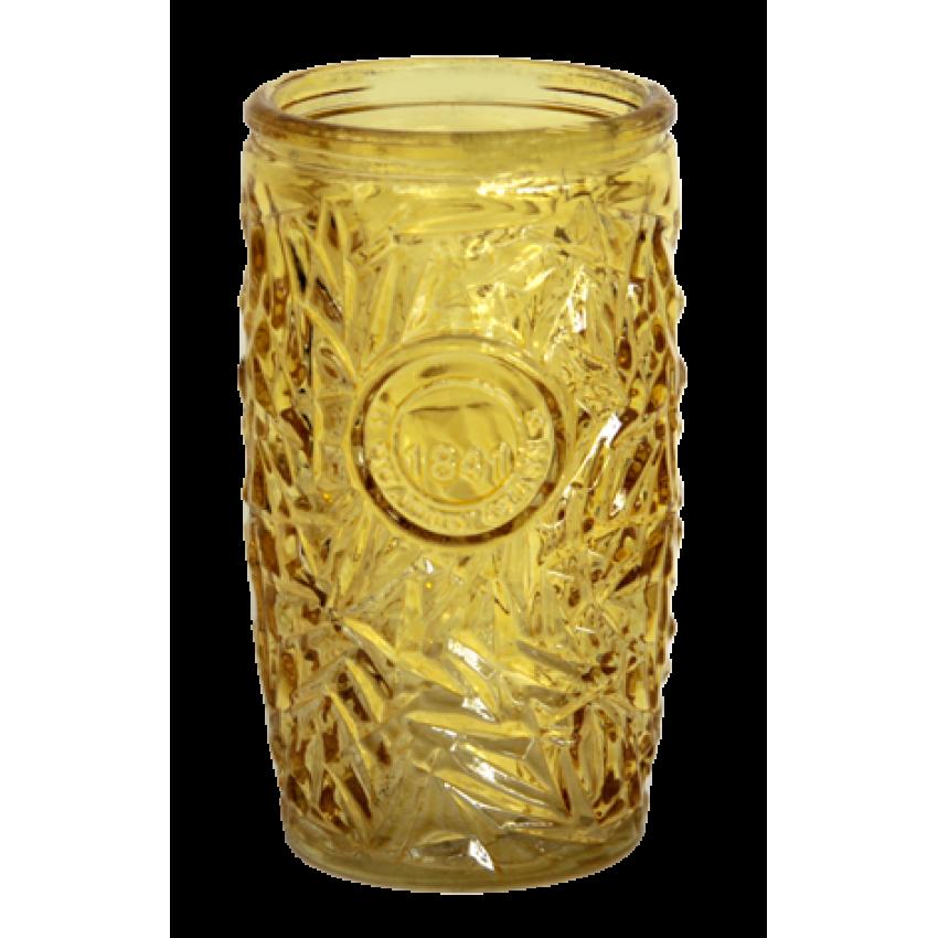 Чаша за коктейл 400ml жълта - 12 броя