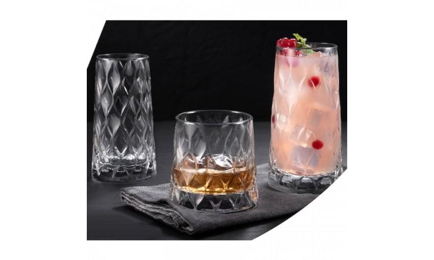Чаша за уиски 320ml Leafy - 12 броя
