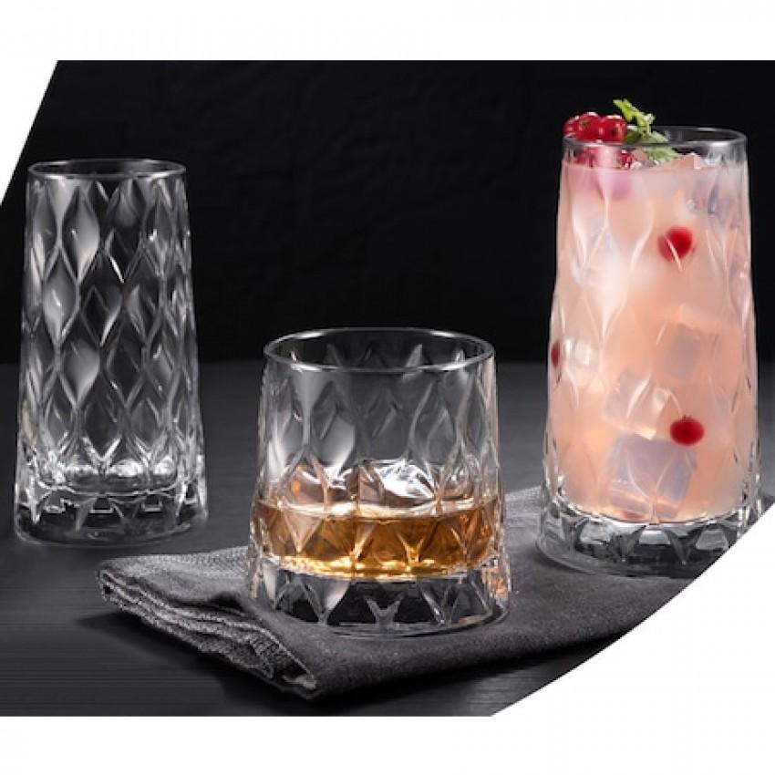 Чаша за коктейл 455ml Leafy - 12 броя