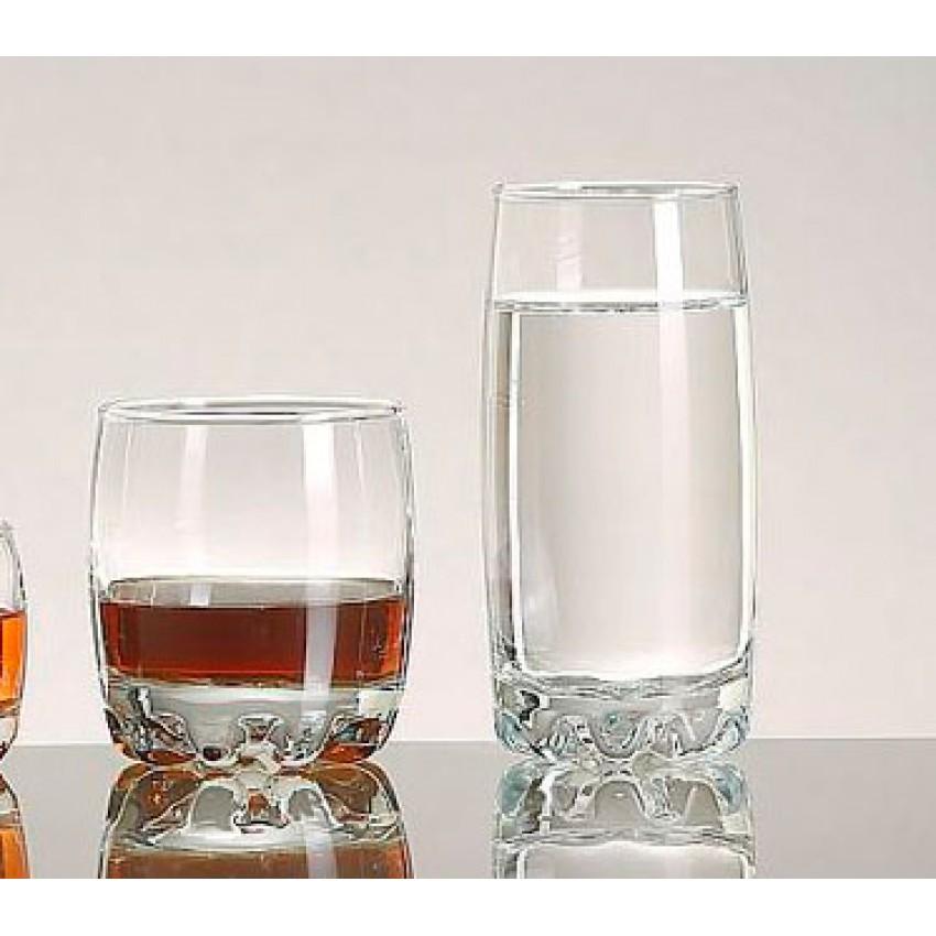 Комплект от 24 чаши - 12 за алкохол и 12 за вода