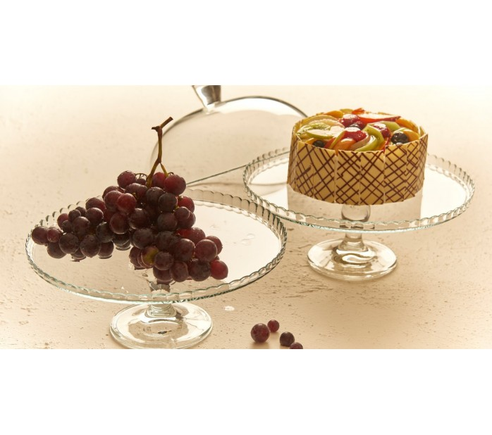 Поставка за торта с капак 32см