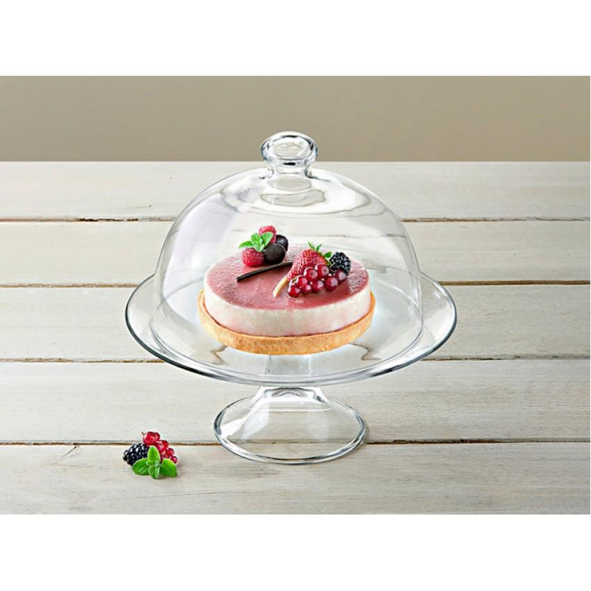 Поставка за торта с капак 21см - Vidivi Banquet