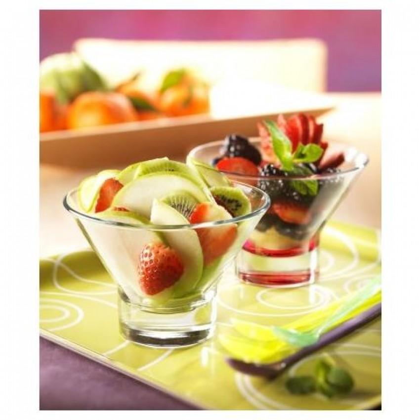 Чаша за десерт и мелба - ниска - Ypsilon - 6 броя