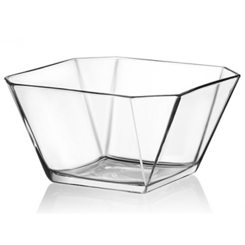 Стъклена купа за ядки / лед 300ml - 6 броя