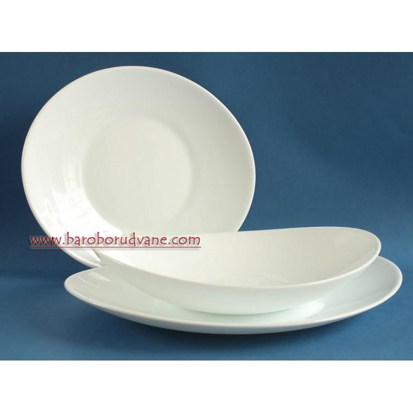 Дълбока чиния - купа 23см х 22 см - Prometeo - 6 броя