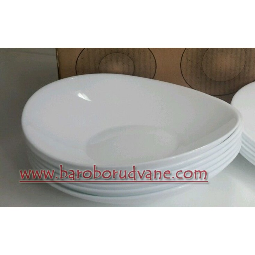 Дълбока чиния - купа 23см х 21 см - Prometeo - 6 броя
