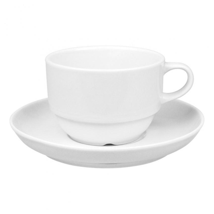 Чаша с чинийка - 230 мл. - 12 бр.