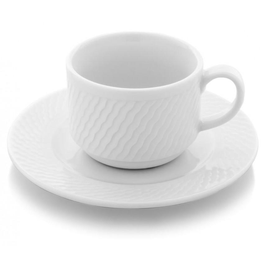 Чаша с чинийка - 90 мл. - 12 бр.