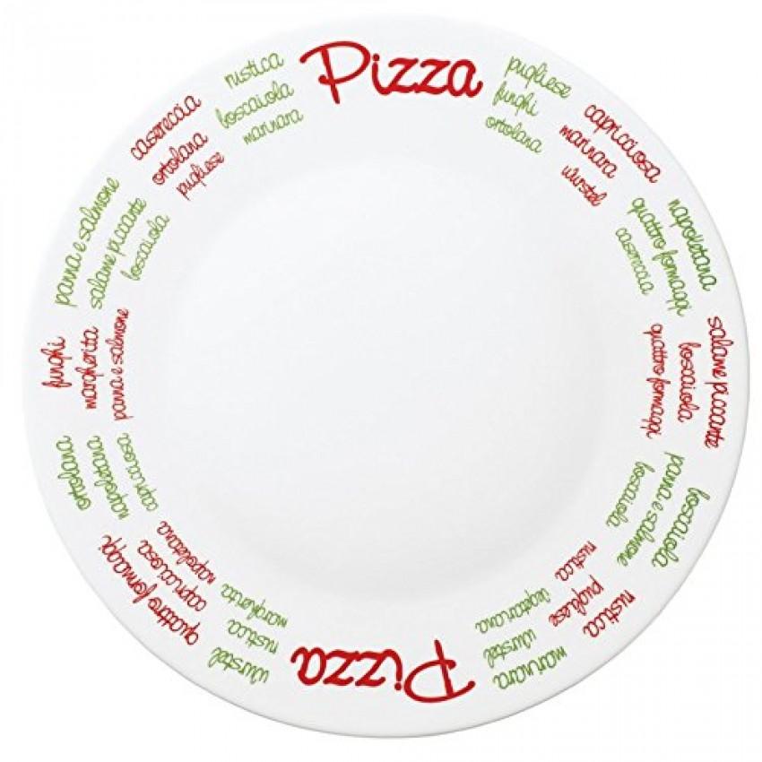 Чиния за пица 33 см. с декорация