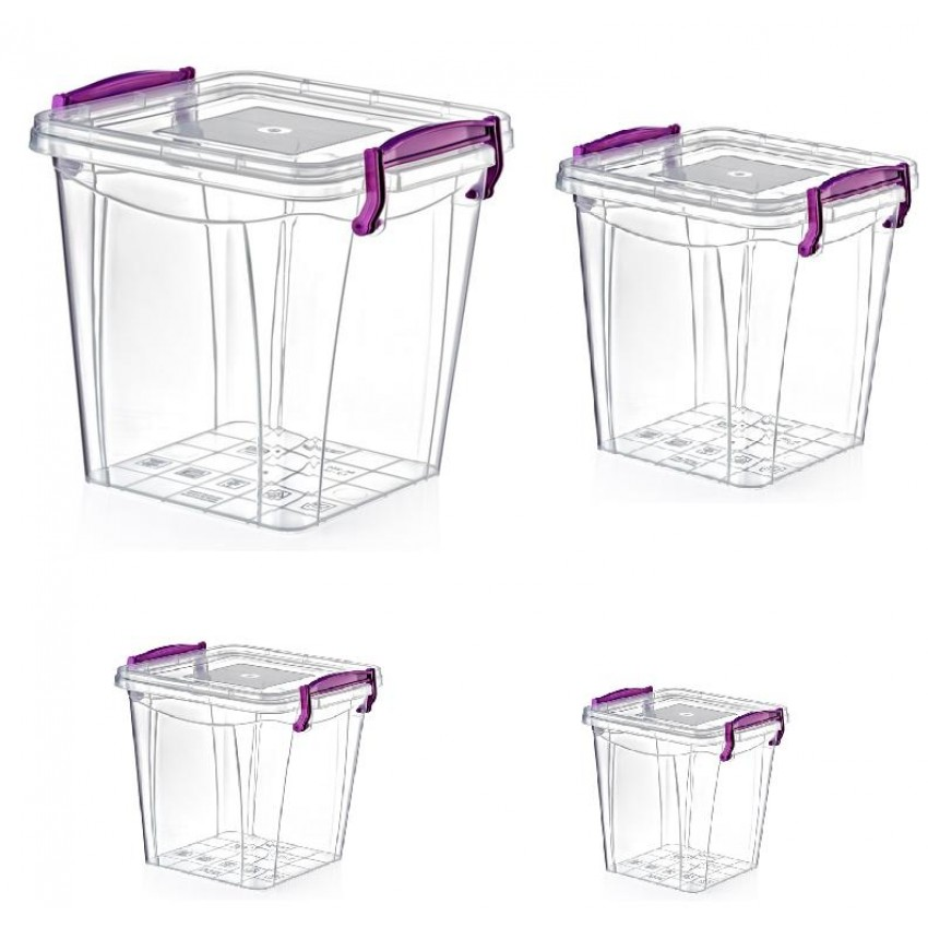 Кутии за съхранение - квадратни и дълбоки
