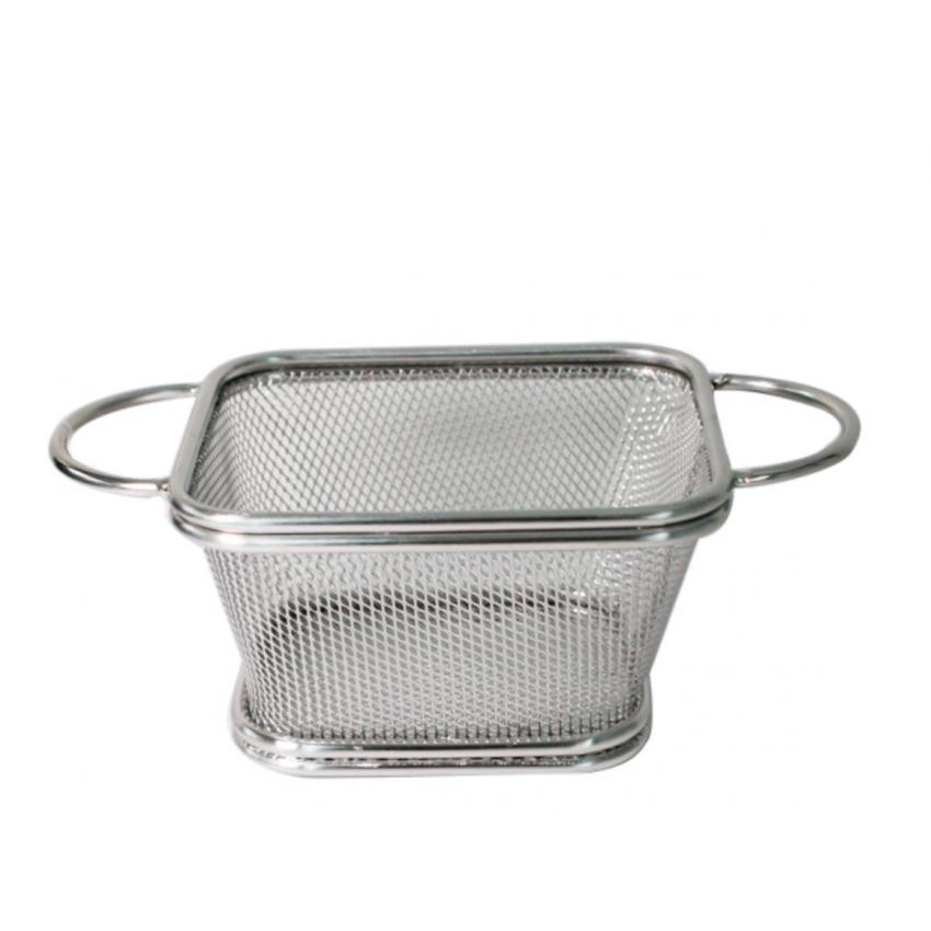 Метална кошница за сервиране - 10.5x9x6cm.
