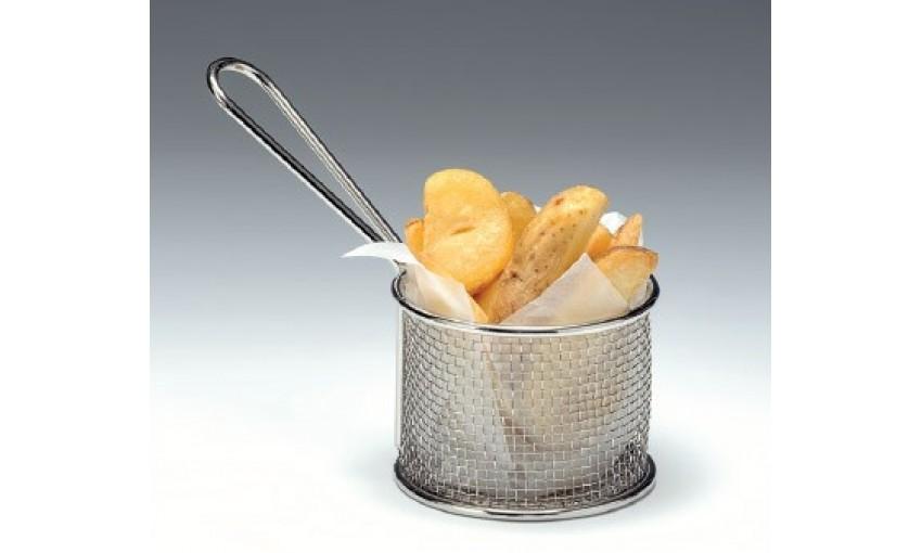 Метална кошница за сервиране