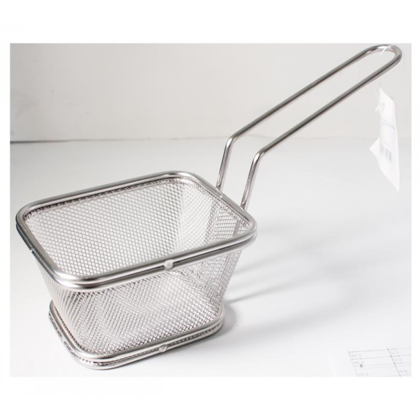 Метална кошница за сервиране - 11x13x8.5cm.