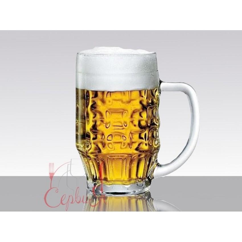 Халба за бира 300ml Malles - 6 броя