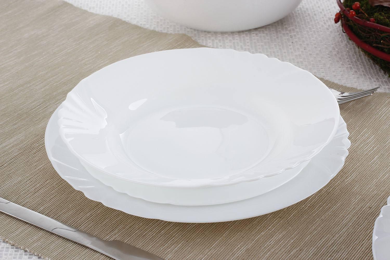 Чиния за супа и салата 22,5см Cadix - 24 броя