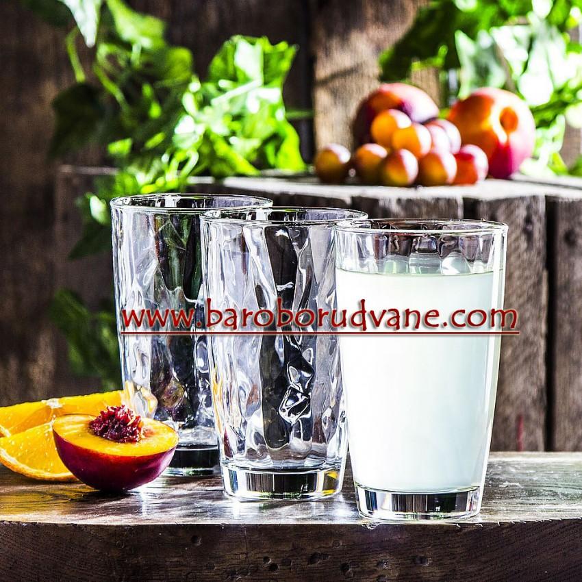 Чаша за коктейл и вода 470ml - 6 броя