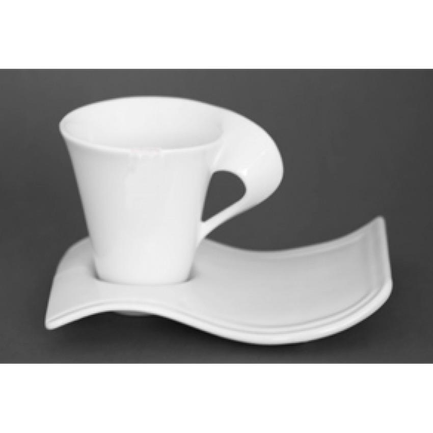 Чаша за кафе и капучино 220ml - 6 броя