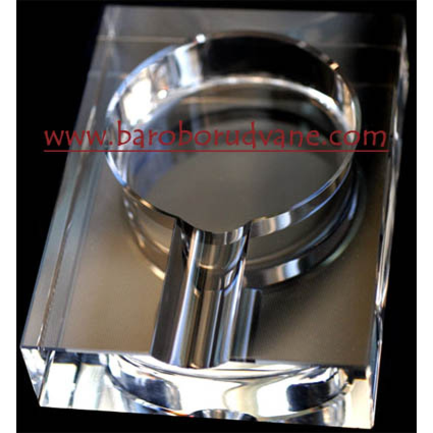 Кристален пепелник за пура - 2 броя