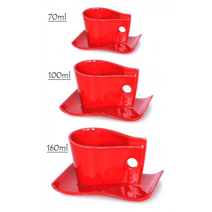 Чаша с чинийка
