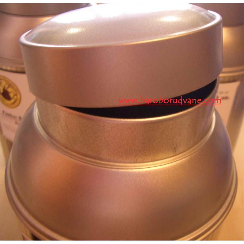 Метален буркан 2кг - 4 броя
