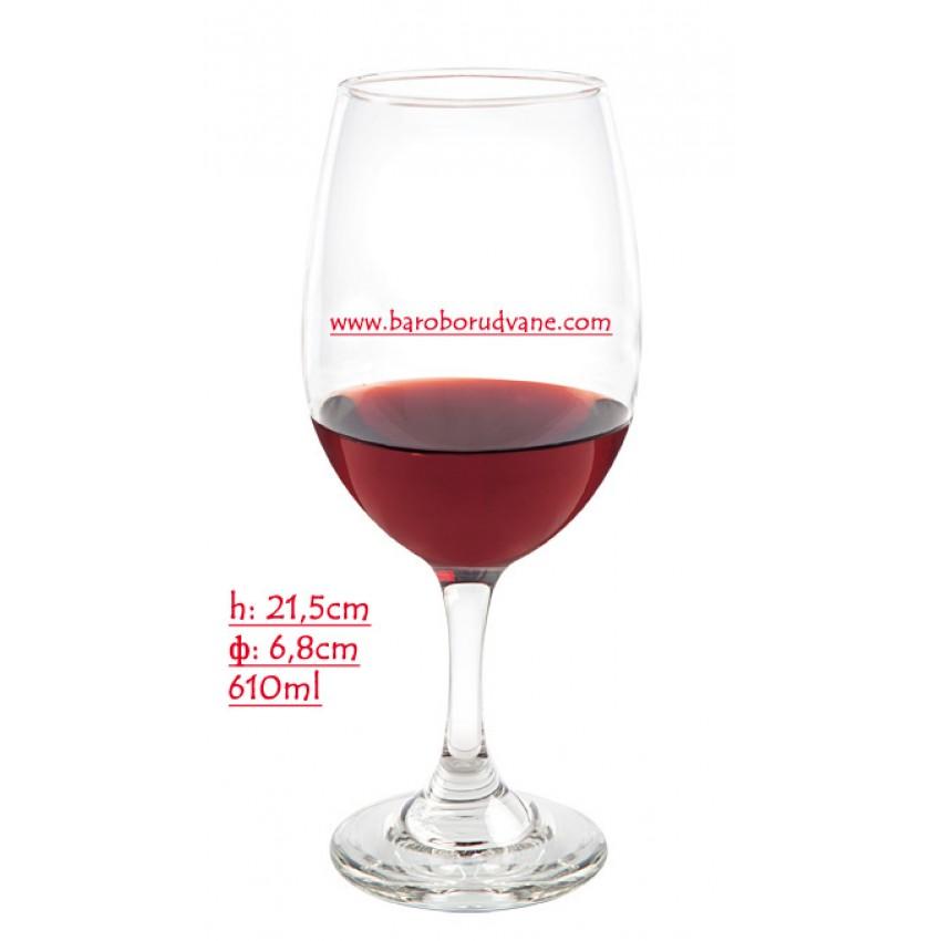 Чаша за червено вино 610ml - 24 броя