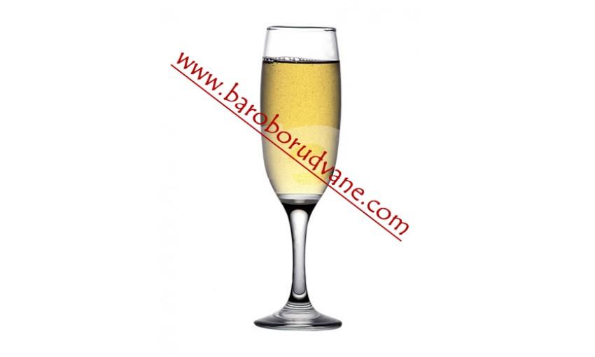 Чаша за бяло вино и шампанско 220ml Empire - 12 броя