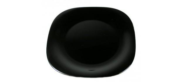 Десертна чиния 19см черна - Carine - 6 броя