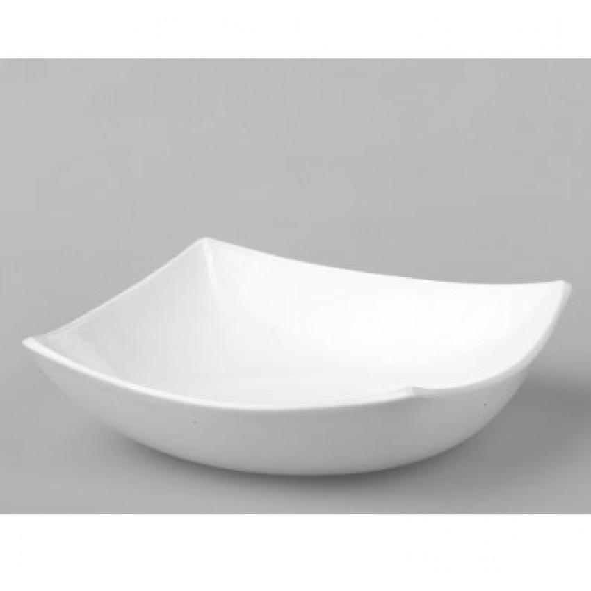 Купа за салата - дълбока чиния - Quadrato - 6 броя