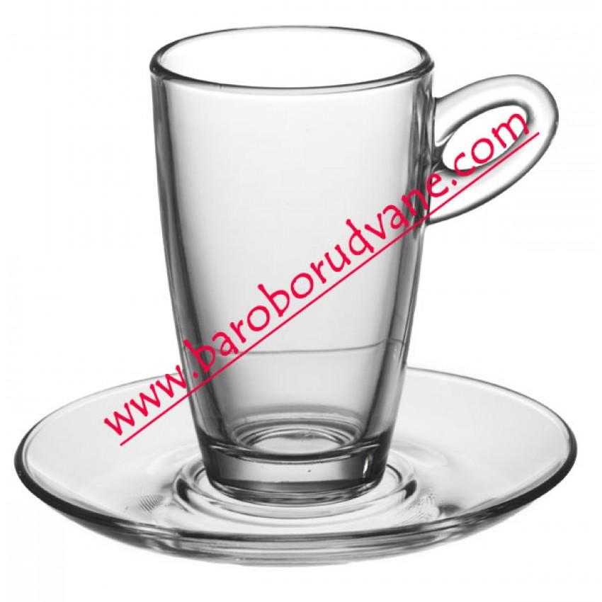 Чаша с чинийка за кафе 90ml - 12 броя